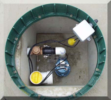 Septic Systems - Pumping Chamber (Pump Station)